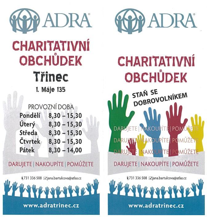 ADRA_charitativní obchůdek Třinec (web)