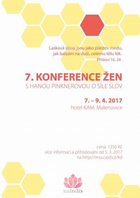 Konference žen 2017 (plakát)
